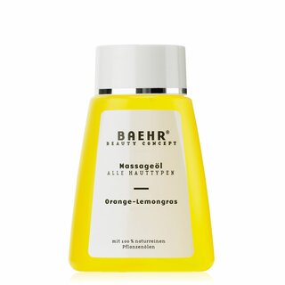 BAEHR BEAUTY CONCEPT Massageöl Orange-Lemongrass 100ml